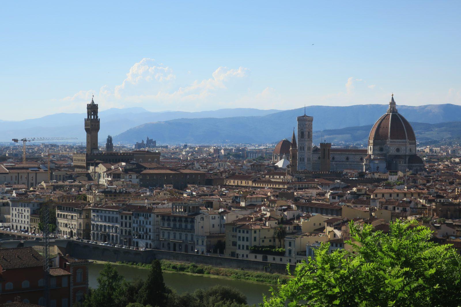 Kaupunkimaisema Roomasta, kuva